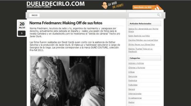 (ASUNCIÓN) http://dueledecirlo.paraguay.com/