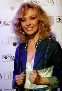 La actriz Silvia Tortosa