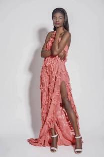 La 'Miss Turismo Africa' Sandra Obono
