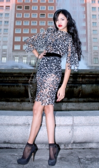 La Miss Elite Bolivia Nayeli Quiroja