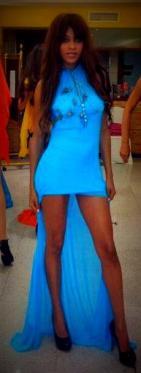 La modelo Carmen Lacambra