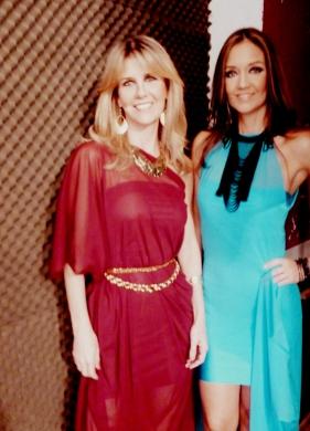 Las tops paraguayas Diana Pane y Carolina Gonzalez